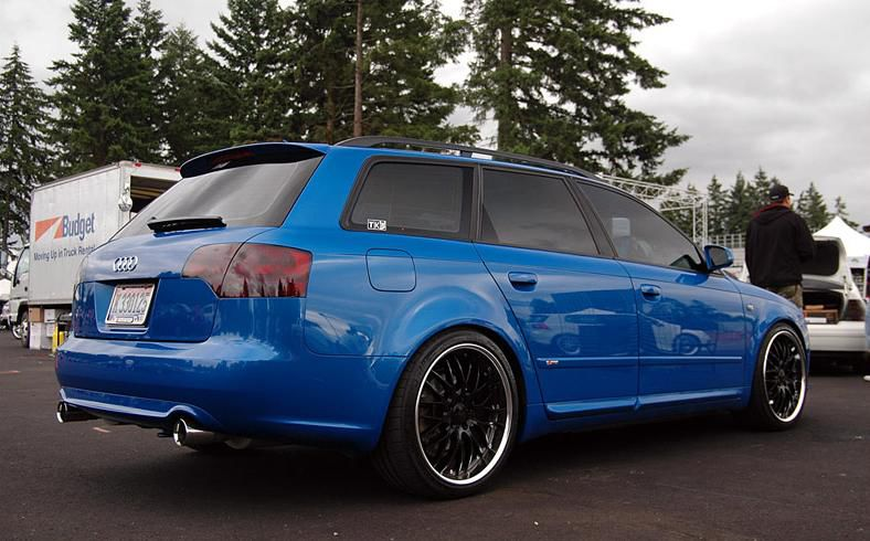 Audi A4 B6 B7 Avant Takaspoileri Rs4 Look Tuning Design