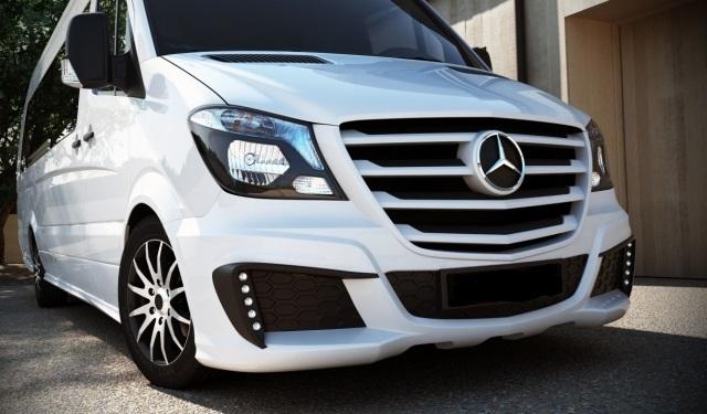 Mercedes Sprinter W906 Facelift 2013 8 2015 Etupuskuri Amg