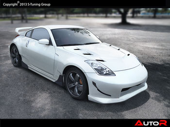 nissan 350z nms edition widebodykit tuning design net oy. Black Bedroom Furniture Sets. Home Design Ideas