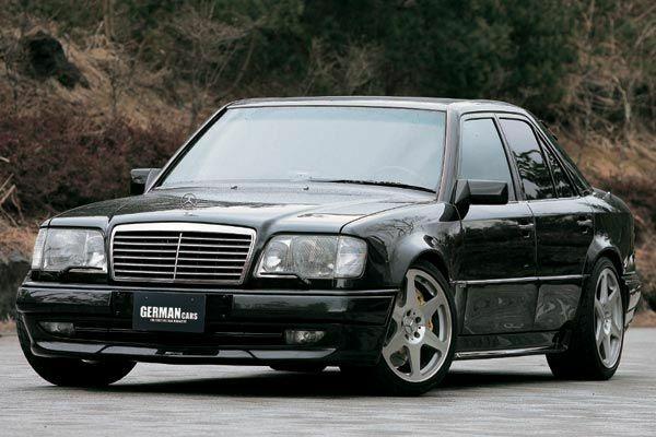 Mercedes benz w124 sedan e500 e36 60 amg look for Mercedes benz w124 tuning