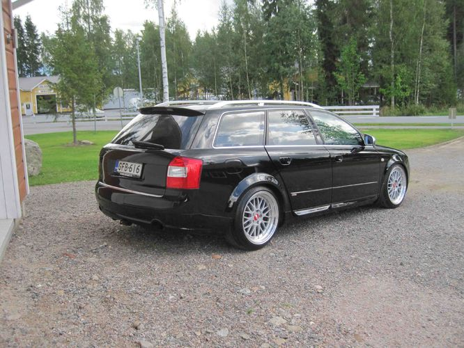 audi a4 b6 b7 avant takaspoileri rs4 look tuning design. Black Bedroom Furniture Sets. Home Design Ideas