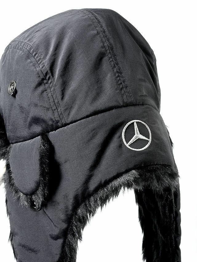 Mercedes musta karvahattu  ffd241dc76