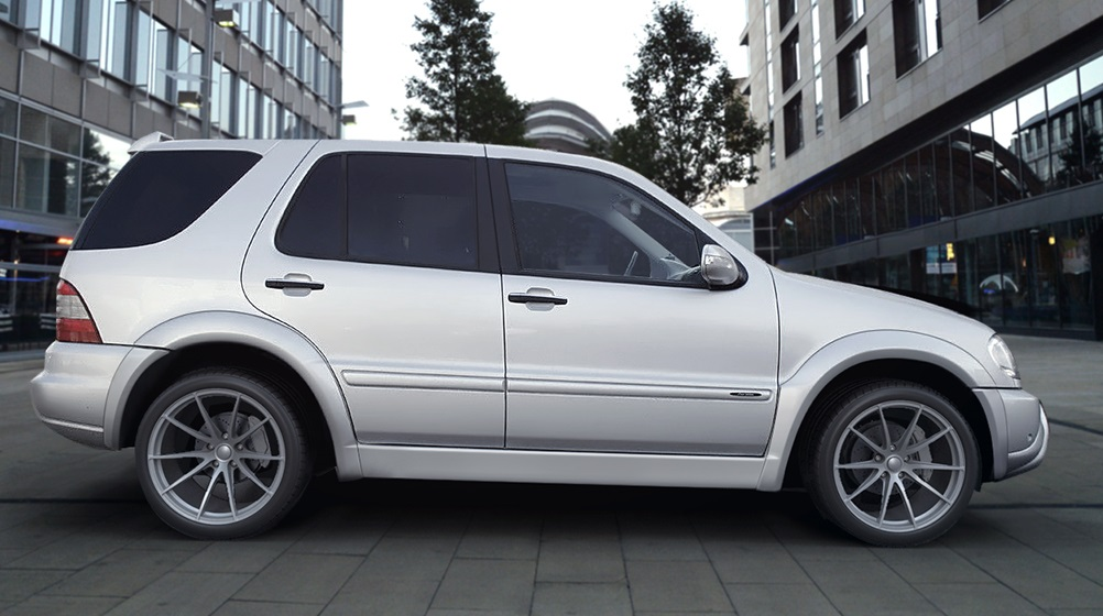Mercedes Ml W163 97 05 Amg Look Kaarilevikesarja Tuning