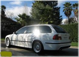 M-tech look takapuskuri, (PCD) e39 touring 95-03