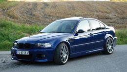 BMW E46 98-01 sedan touring m3 look etulokasuojat