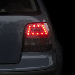 VW Golf IV vm.97-03 tummat LED takavalot