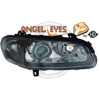 Opel Omega B1 angel eyes ajovalot