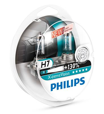 PHILIPS X-TremeVision +130% ajovalopolttimo H7