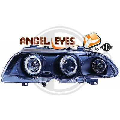 BMW E46 sedan,touring vm.98-01 Angel eyes ajovalot