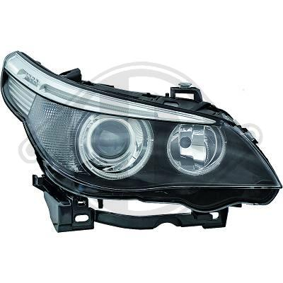 BMW E60/61 05-3/07 angel eyes D1S xenon valoille, vasen