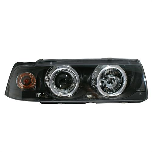 BMW E36 91-99 coupe cabriolet tummat angel eyes ajovalot one block