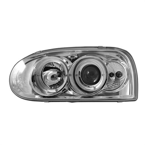 Kirkkaat angel eyes ajovalot VW Golf III vm.91-97