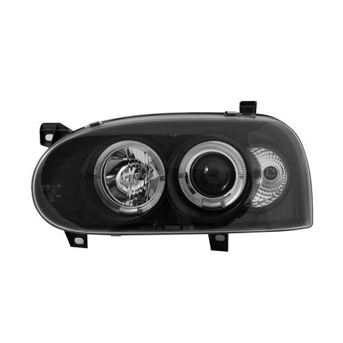 Tummat angel eyes ajovalot  VW Golf III vm.91-97