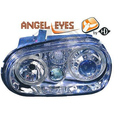 VW Golf IV 97-03 angel eyes ajovalot