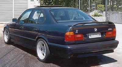 BMW E34 sedan takaspoileri