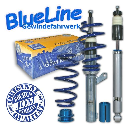 JOM Coilover alustasarja VW Golf VI, 1.4/ TSi/ 1.6/ 2.0/ 2.0T/ DSG/ 1.9TDi Ø 50/55 mm!!Ei 4-motion