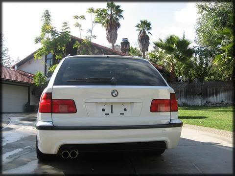 M-tech look takapuskuri, e39 touring 95-03