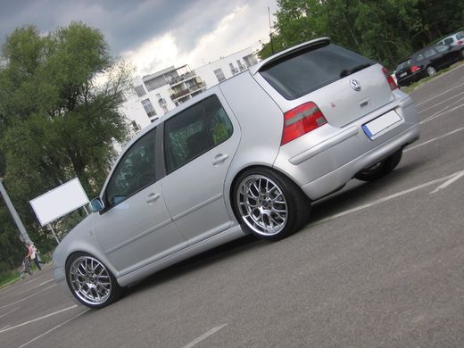 VW Golf IV 98-03 Jubilee GTI look takapuskurinspoileri
