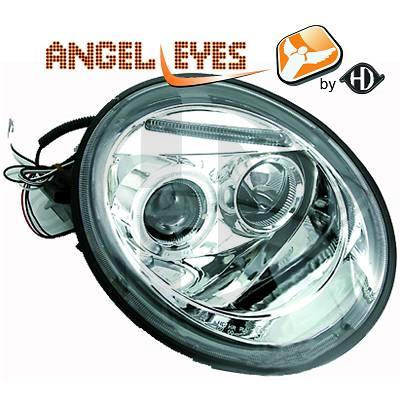 VW New Beetle 98-05 kirkkaat angel eyes ajovalot