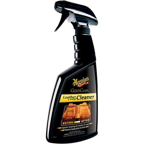 Meguiar's Gold Class Leather™ & Vinyl Cleaner Nahka- ja vinyylipintojen puhdistusaine 473ml