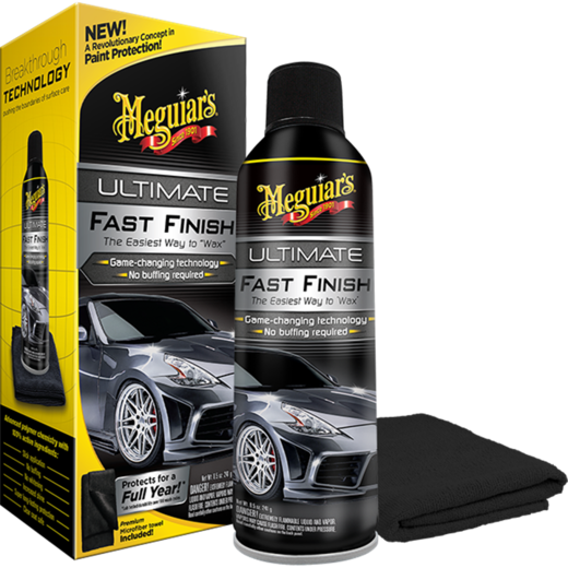 MEGUIAR`S ultimate fast finish maalipinnan aerosoli pinnoite
