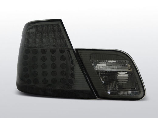 BMW E46 coupe 99-03 tummat led takavalot