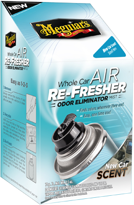 Meguiars's ilmanraikastin whole car air re-fresher odor eliminator