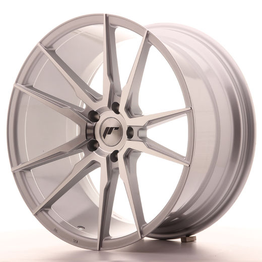 Japan Racing JR-21 concave vanteet hopea/machined 20x8.5x10 5/120