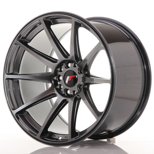 Japan Racing JR-11 concave vanteet 19x8.5x10 5x114.3 & 5x120 Hiper Black