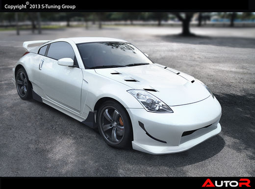 Nissan 350Z NMS edition widebodykit
