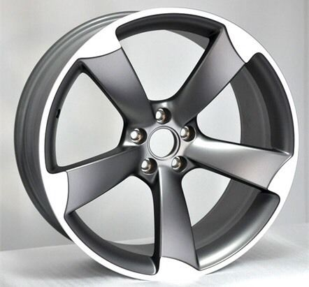 "Racing line 5-spoke 20x9"" 5/112 ET35 concave"