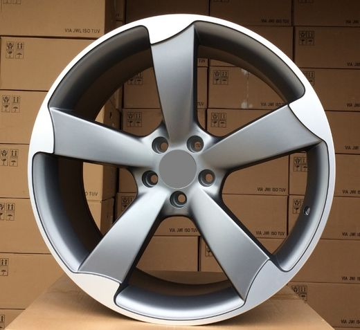 Racing line 5-spoke 18x8.5 matta gun metal 5x112