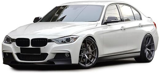 BMW F30 11-15 M-performance look PDC etupuskuri