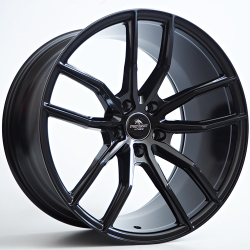 *UUTUUS!* Forzza Sigma 19x8.5x9.5 5x120 BMW concave vanteet black magic