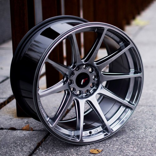 Japan Racing JR-11 concave vanteet 19x8.5x10 ET20 5x114.3 & 5x120 Hiper Black