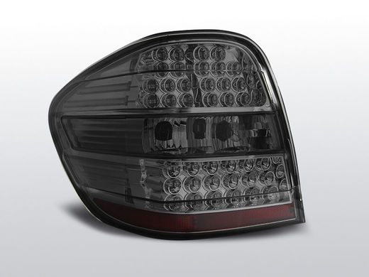 Mercedes ML W164 05-08 tummat led takavalot