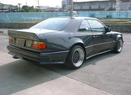Mercedes W124 coupe 85-95 amg look takaspoileri