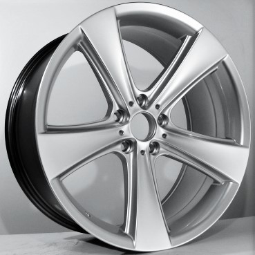 "Silver style concave vanne 20"" 9.0X10.0"" BMW 5/120"