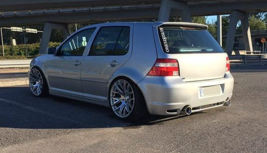VW Golf IV R32 look takapuskuri